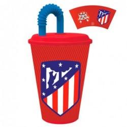 Vaso caña Atletico Madrid